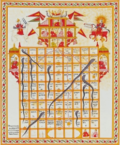 Snakes_and_Ladders Ancient game